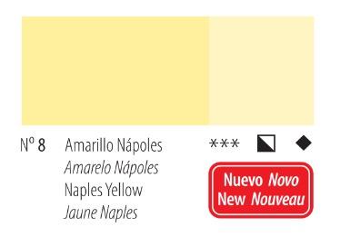 Venta pintura online: Acrílico Titan Goya Amarillo Nápoles nº8