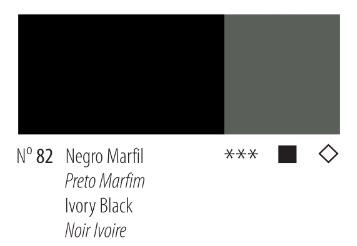 Venta pintura online: Acrílico Titan Goya negro marfil nº82