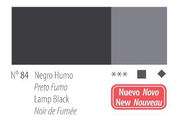 Venta pintura online: Acrílico Titan Goya Negro humo nº84