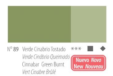 Venta pintura online: Acrílico Titan Goya Verde cinabrio tostado nº89