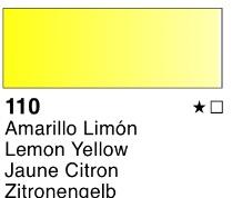 Venta pintura online: Acuarela liquida Amarillo limón nº110