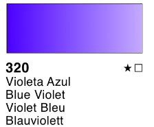 Venta pintura online: Acuarela liquida Violeta Azul nº320
