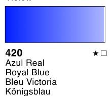 Venta pintura online: Acuarela liquida Azul real nº420