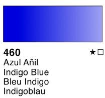 Venta pintura online: Acuarela liquida Azul añil nº460