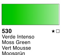 Venta pintura online: Acuarela liquida Verde intenso nº530