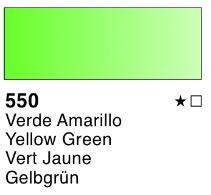 Venta pintura online: Acuarela liquida Verde amarillo nº550
