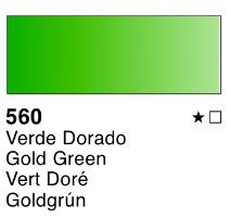 Venta pintura online: Acuarela liquida Verde dorado nº560