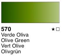Venta pintura online: Acuarela liquida Verde oliva nº570