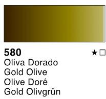 Venta pintura online: Acuarela liquida Oliva dorado nº580