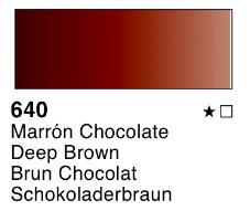 Venta pintura online: Acuarela liquida Marrón chocolate nº640