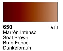 Venta pintura online: Acuarela liquida marrón intenso nº650