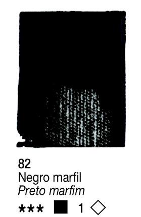 Venta pintura online: Acrílico Negro Marfil nº82 serie 1