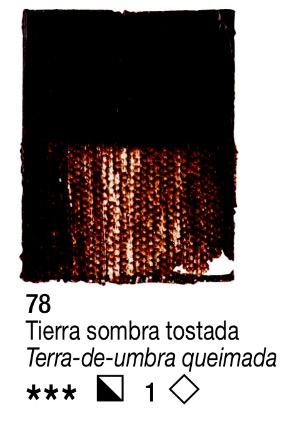Venta pintura online: Acrílico Tierra Sombra Tostada nº78 serie 1