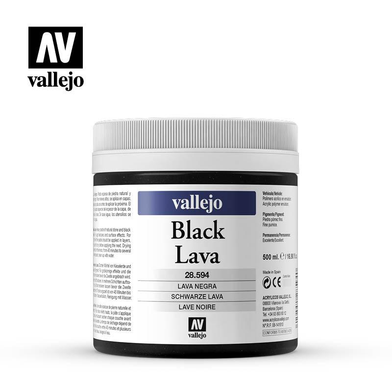Venta pintura online: Lava Negra 500ml