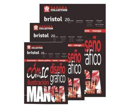 Venta pintura online: Bloc Sakura Bristol 250gr - A5