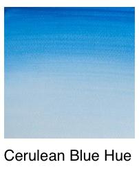 Venta pintura online: Acuarela tono de azul ceruleo