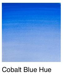Venta pintura online: Acuarela tono de azul de cobalto