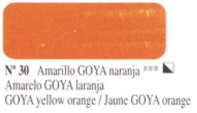 Venta pintura online: Óleo Amarillo Goya naranja nº30