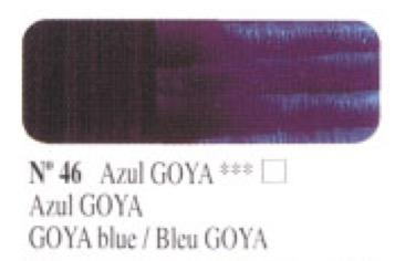 Venta pintura online: Óleo Azul Goya nº46