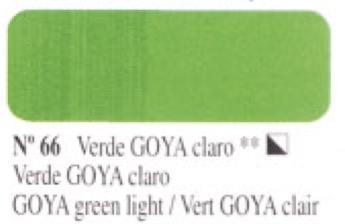 Venta pintura online: Óleo Verde Goya claro nº66