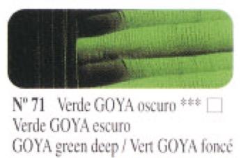 Venta pintura online: Óleo Verde Goya oscuro nº71