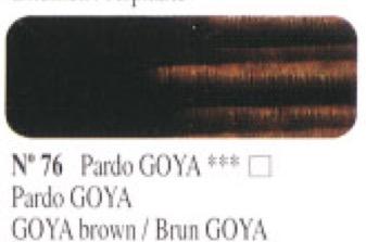 Venta pintura online: Óleo Pardo Goya nº76