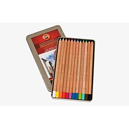 Venta pintura online: Caja 12 Lápices Pastel Gioconda Koh-i-noor