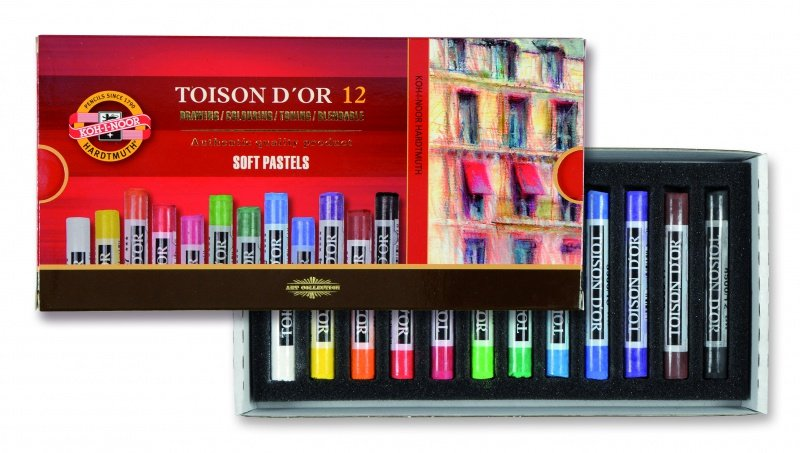 Venta pintura online: Caja 12 Barras Pastel Toison d´Or
