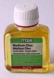 Venta pintura online: Médium Oleo secado rápido