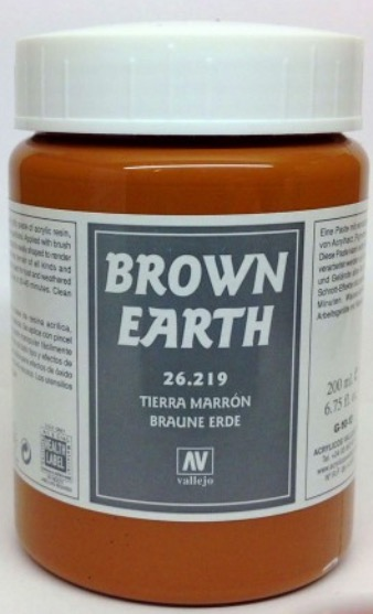 Venta pintura online: Brown Earth ( tierra marrón).