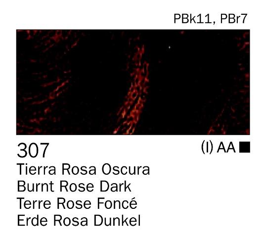 Venta pintura online: Acrilico Tierra rosa oscura nº307
