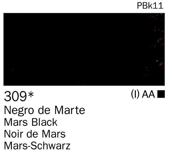 Venta pintura online: Acrilico Negro de marte nº309