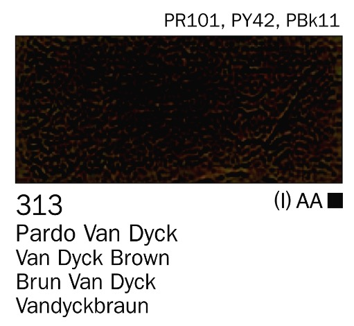 Venta pintura online: Acrilico Pardo van dyck nº313