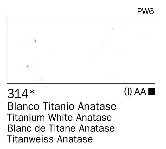Venta pintura online: Acrilico Blanco Titanio anastase nº314