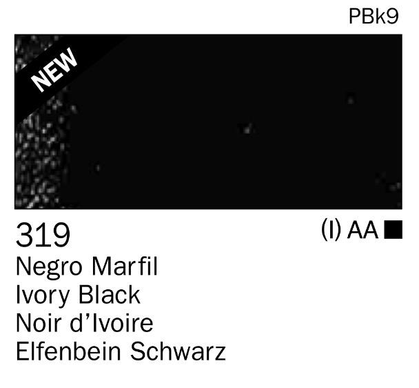 Venta pintura online: Acrilico Negro marfil nº319