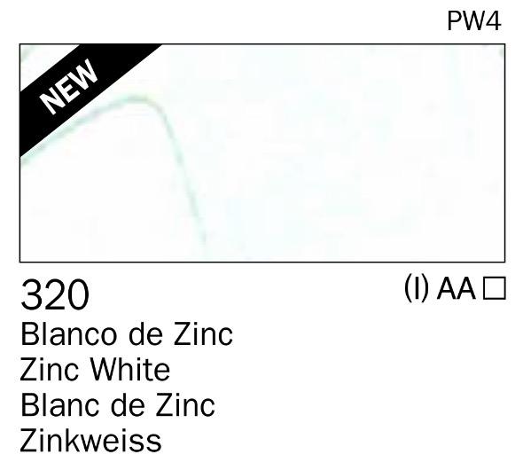 Venta pintura online: Acrilico Blanco de zinc nº320