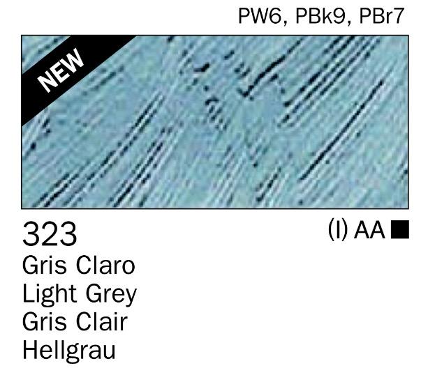 Venta pintura online: Acrilico gris claro nº323