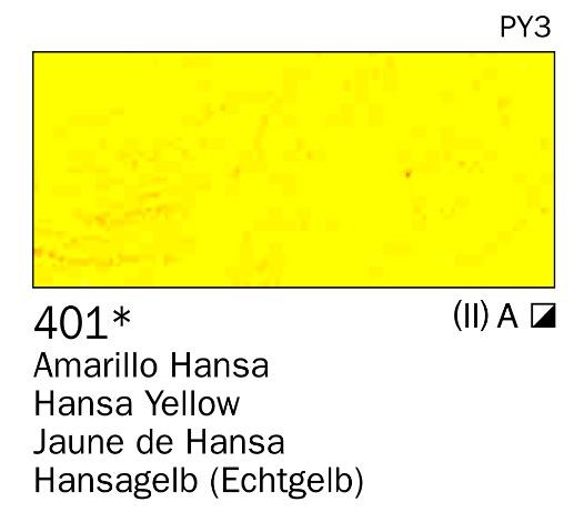 Venta pintura online: Acrilico Amarillo Hansa nº401