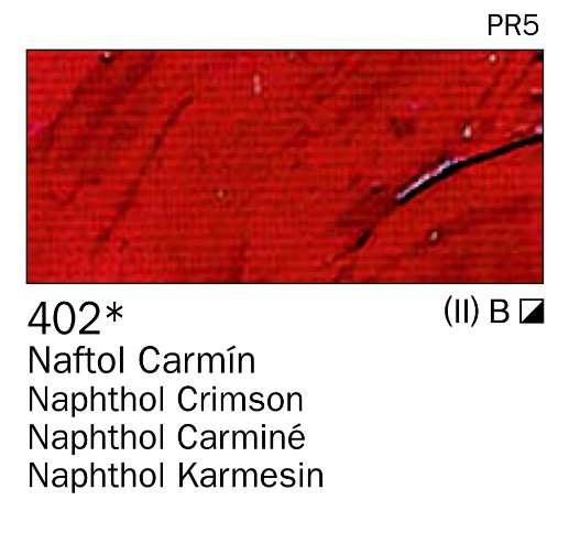 Venta pintura online: Acrilico Naftol carmin nº402