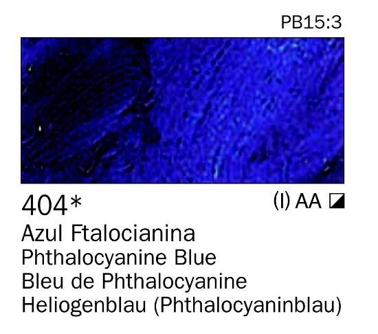 Venta pintura online: Acrilico Azul ftalocianina nº404