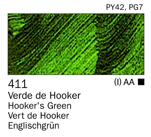 Venta pintura online: Acrilico Verde de Hooker nº411