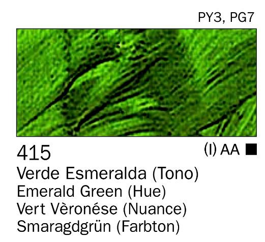 Venta pintura online: Acrilico Verde esmeralda (tono) nº415