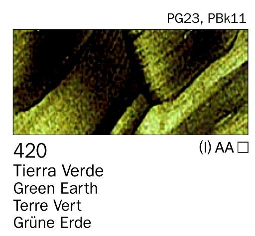 Venta pintura online: Acrilico tierra verde nº420