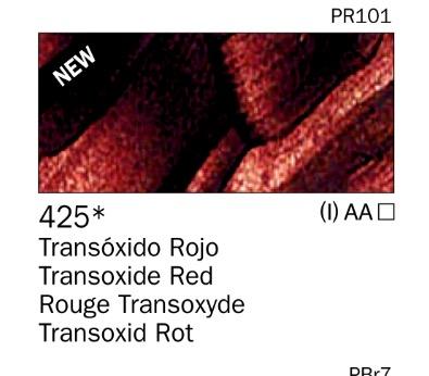 Venta pintura online: Acrilico Transóxido Rojo nº425