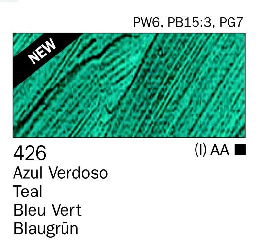 Venta pintura online: Acrilico Azul verdoso nº426