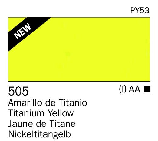 Venta pintura online: Acrilico Amarillo de titanio nº505