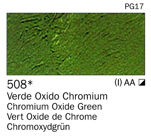 Venta pintura online: Acrilico Verde óxido chromium nº508