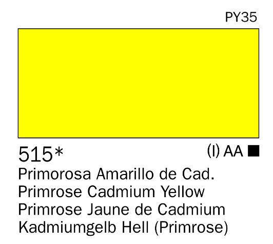 Venta pintura online: Acrilico Amarillo de cadmio Primorosa nº515