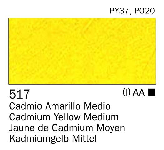 Venta pintura online: Acrilico Amarillo cadmio medio nº517