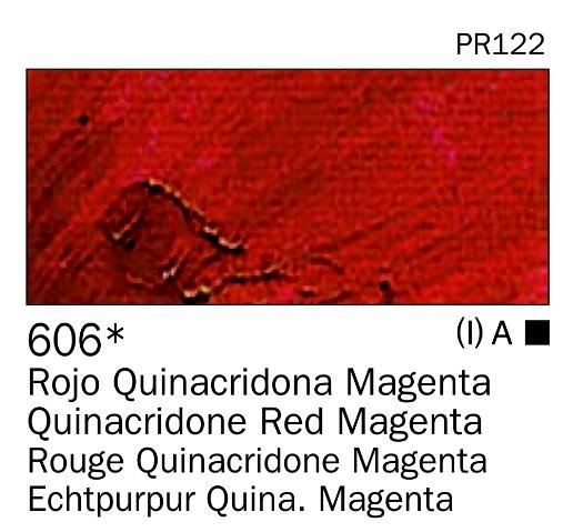 Venta pintura online: Acrilico Rojo quinacridona magenta nº606
